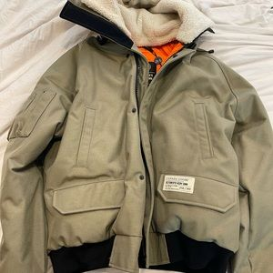 Men's OVO Chilliwack Bomber - XL Limited Edition 256/300 NEW with Tags Khaki